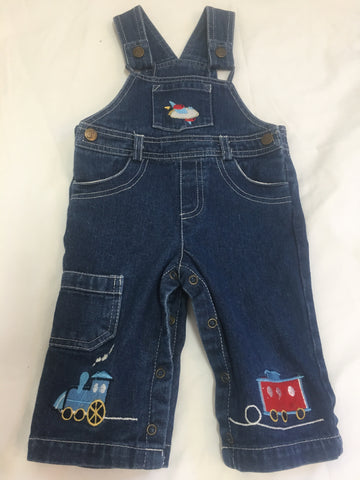 Pacific Boys Denim Overalls Size 1