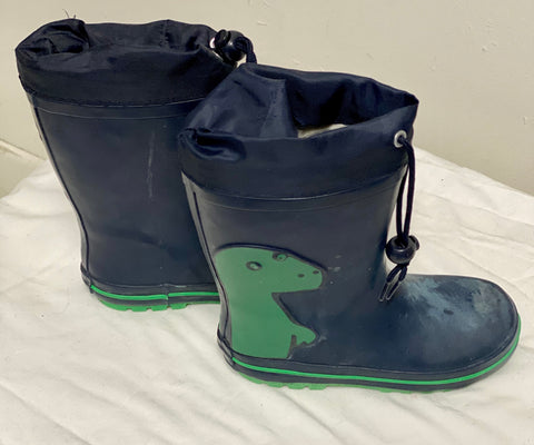 Dino Gum Boot Boys Size 29