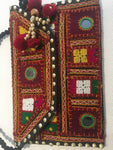 Long Strap Colourful Embroidered Bag