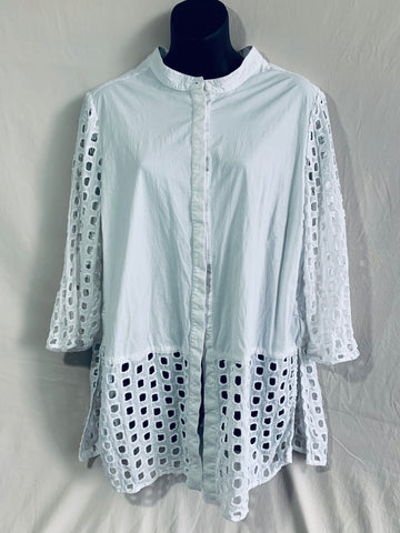 MAGGIE T Top Womens Size 16