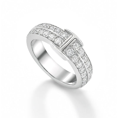 Signature Ring in 18ct White Gold