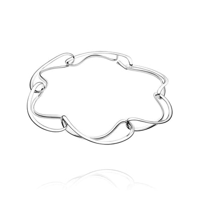 Georg Jensen Infinity Necklet in Sterling Silver - Hamilton & Inches