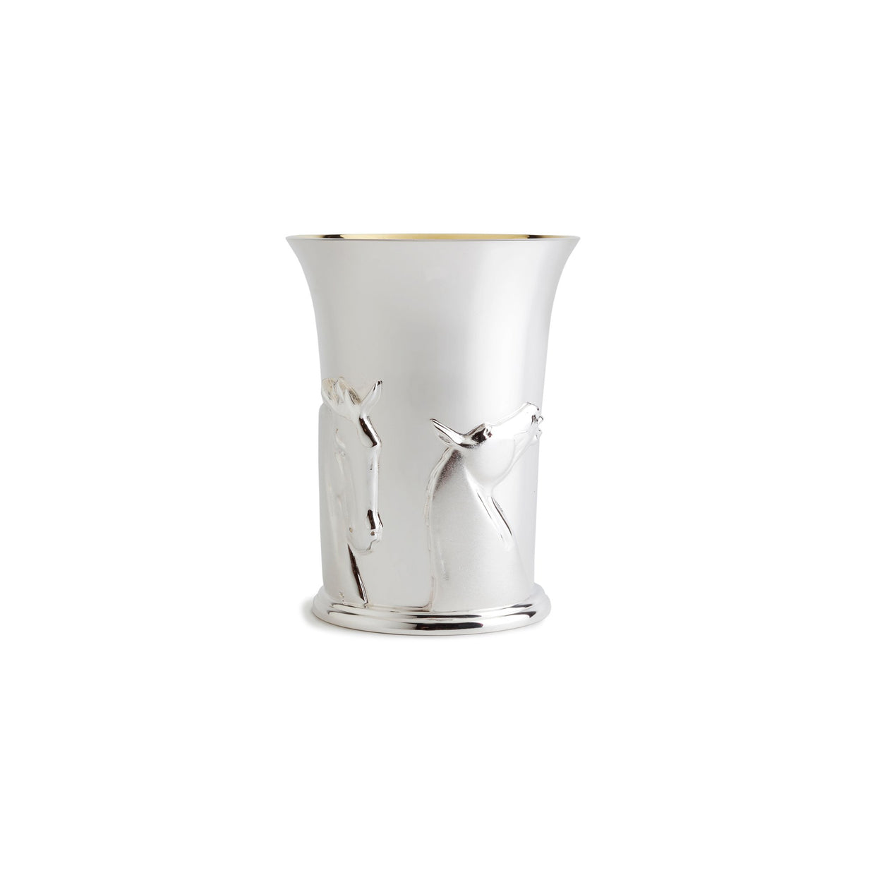 Andy Scott Kelpies Beaker in Sterling Silver-Hamilton & Inches