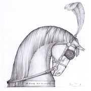 Silver Horse's Head - inspired by Andy Scott - Hamilton & Inches