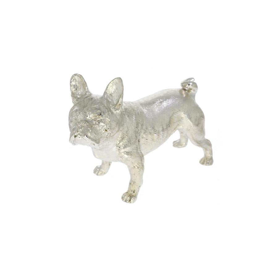 Sterling Silver French Bulldog - Hamilton & Inches
