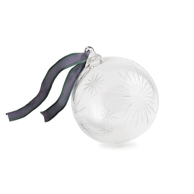 Shooting Star Christmas Bauble - Satin - Hamilton & Inches