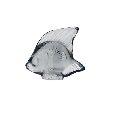 Lalique Aquatic Poisson - Grey - Hamilton & Inches