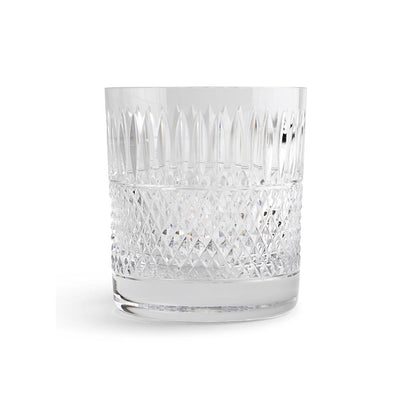Cumbria Crystal and H&I Thistle Cut Whisky Tumbler-Hamilton & Inches