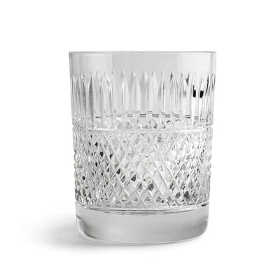 Cumbria Crystal and H&I Thistle Cut Large Whisky Tumbler-Hamilton & Inches