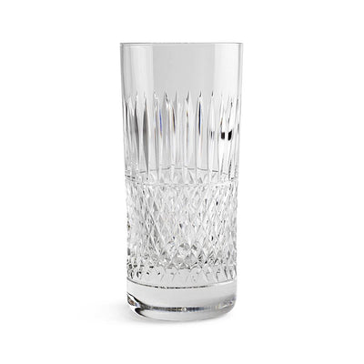 Cumbria Crystal H&I Thistle Highball Glass-Hamilton & Inches