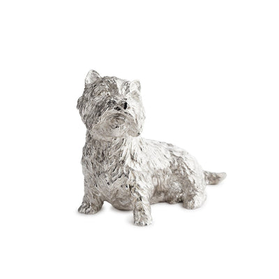 Sterling Silver West Highland Terrier-Hamilton & Inches