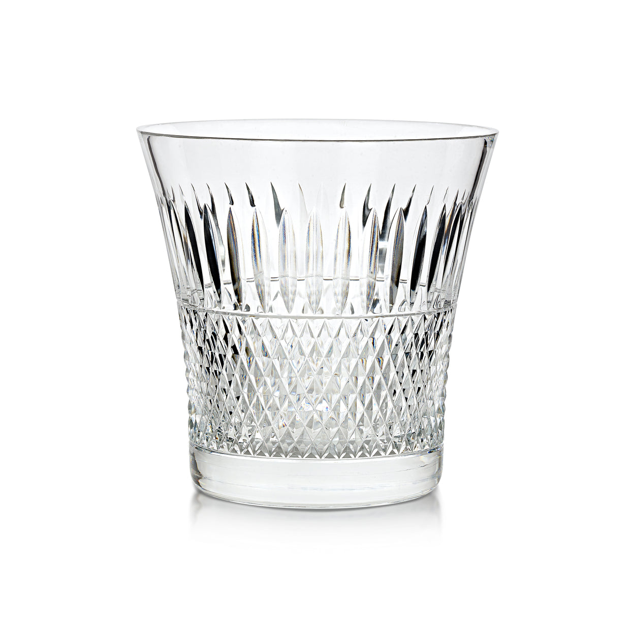 Cumbria Crystal Thistle Cut Ice Bucket - Hamilton & Inches