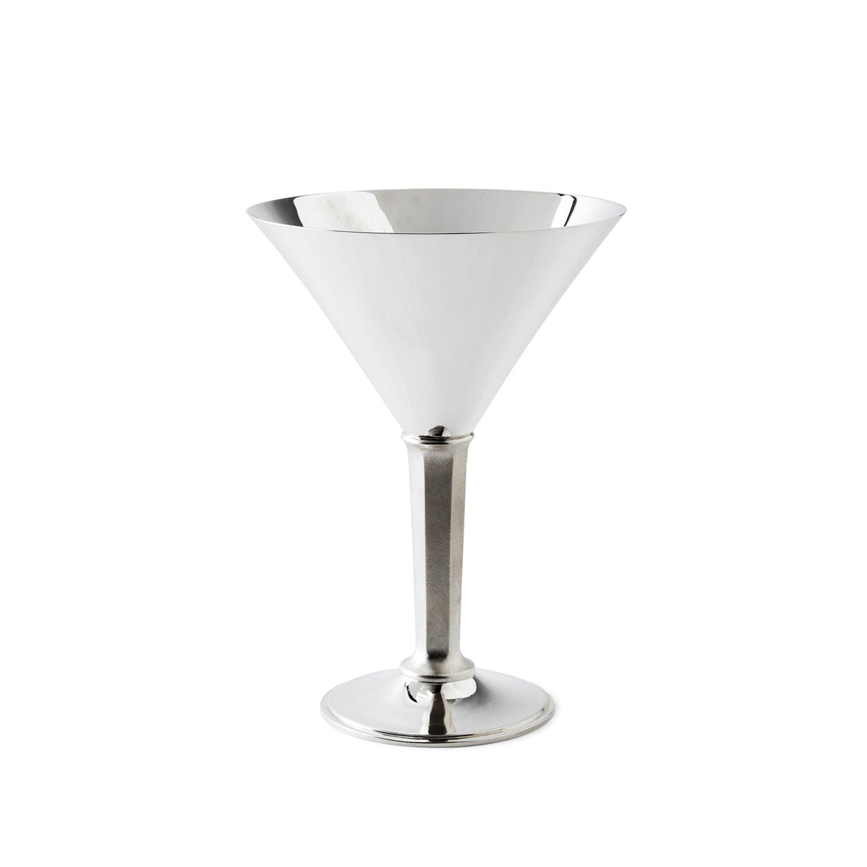 Sterling Silver Martini Glass-Hamilton & Inches