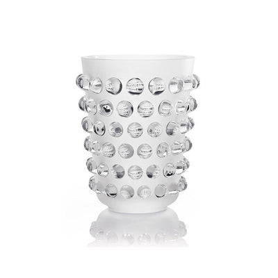 Lalique Clear Mossi Vase - Hamilton & Inches