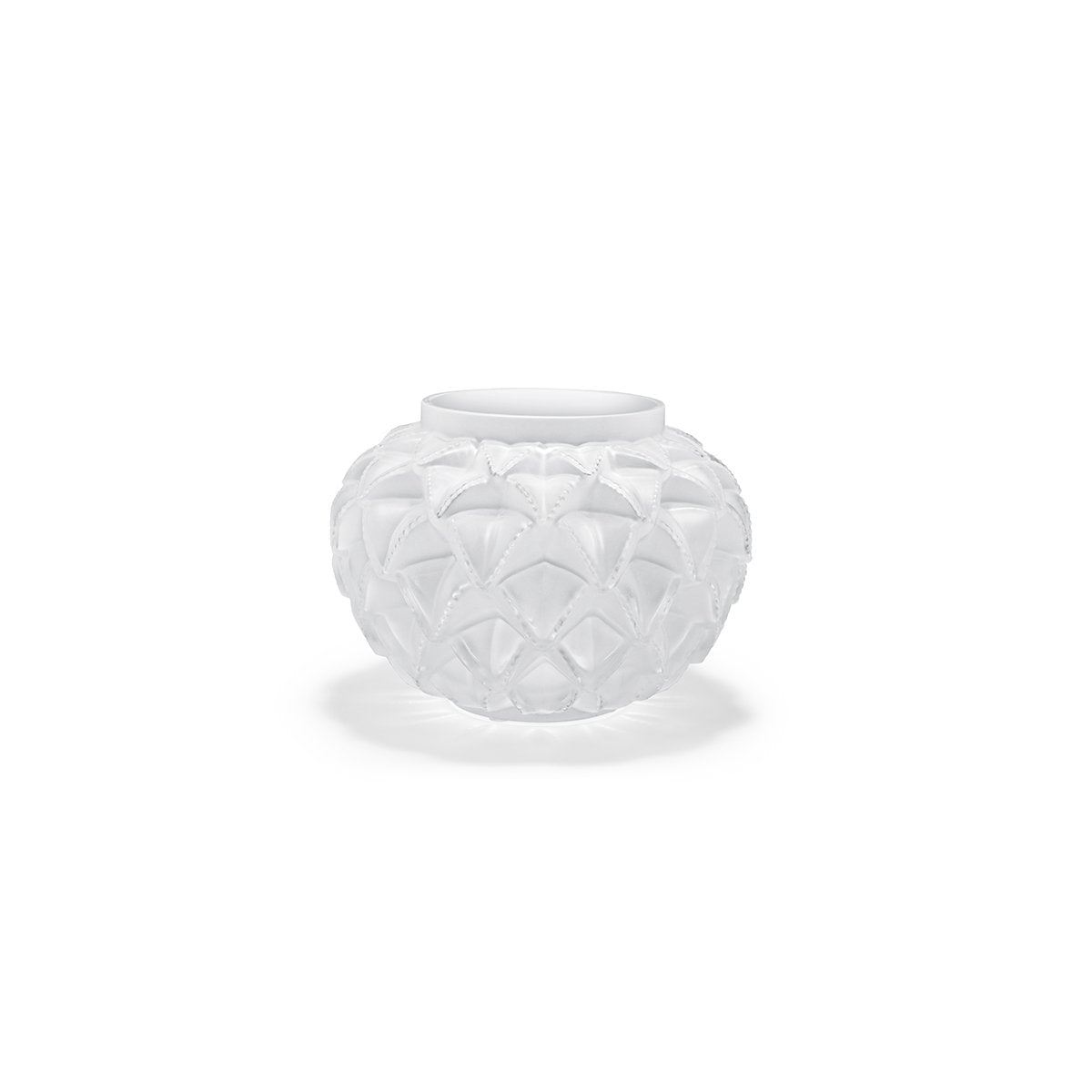 Lalique Languedoc Small Vase in Clear Crystal-Hamilton & Inches