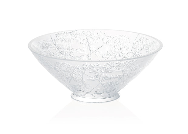 Lalique Ombelles Bowl Clear-Hamilton & Inches