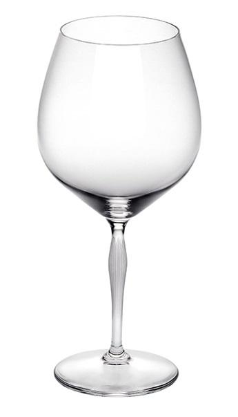 Lalique 100 Points Burgundy Glass-Hamilton & Inches