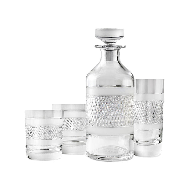 Cumbria Crystal Highball Glass and Decanter