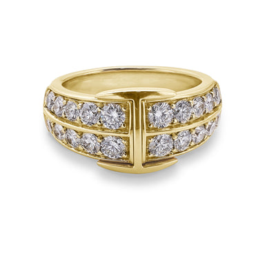 Signature Ring in 18ct Yellow Gold - Hamilton & Inches