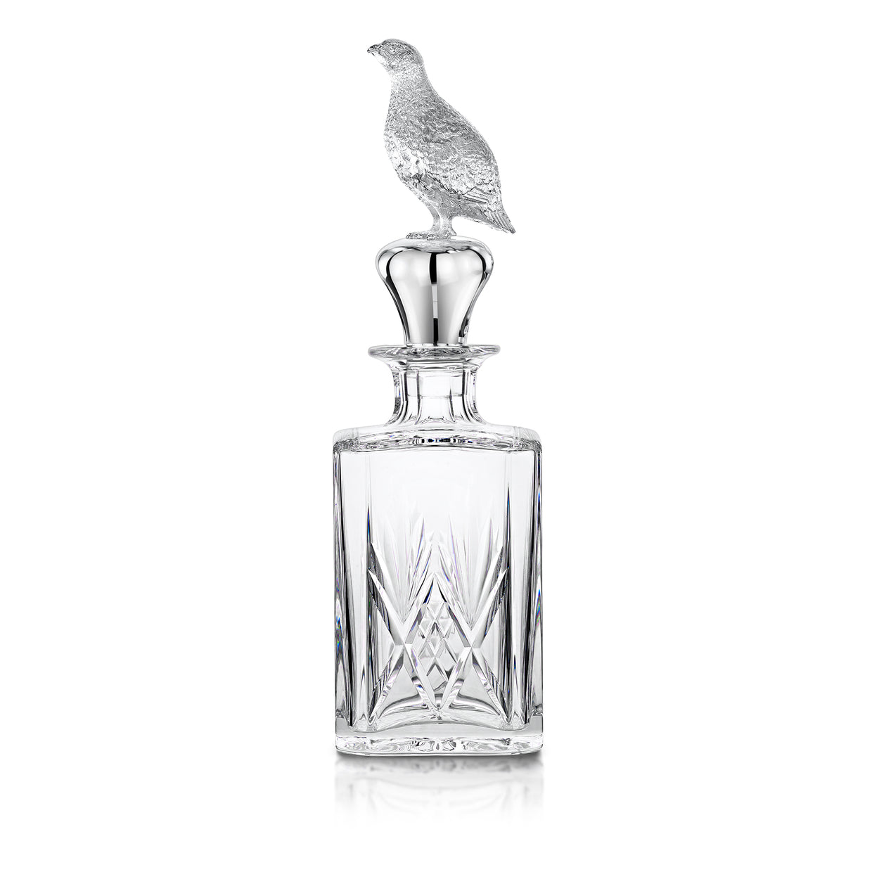 Hamilton & Inches Grouse Decanter - Hamilton & Inches