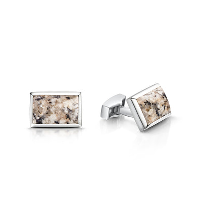 Kemnay Swival Cufflinks in Sterling Silver - Hamilton & Inches