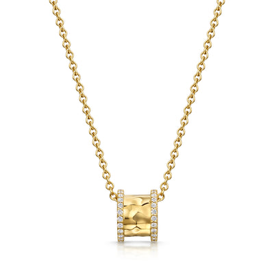 Hamilton & Inches Diamond Duke Pendant in 18ct Yellow  Gold - Hamilton & Inches