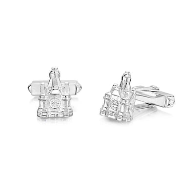 THE BALMORAL HOTEL Cufflinks IN SILVER - Hamilton & Inches