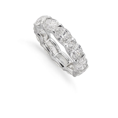 Diamond Eternity Ring in 18ct White Gold
