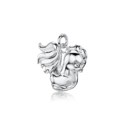 ROOSTER CHARM IN STERLING SILVER - Hamilton & Inches