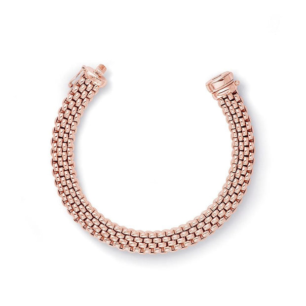 FOPE Profili Bracelet in Rose Gold - Hamilton & Inches