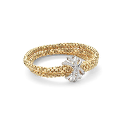 FOPE DIAMOND MIALUCE BRACELET IN 18CT YELLOW GOLD - Hamilton & Inches