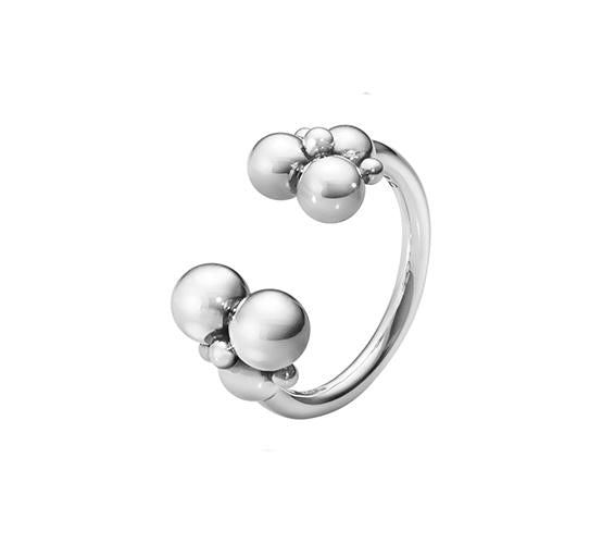 Georg Jensen Moonlight Grapes Ring in Sterling Silver-Hamilton & Inches