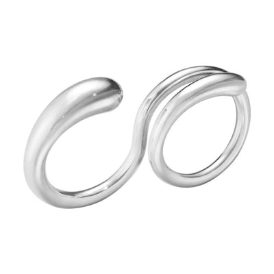 Georg Jensen Double Mercy Ring in Sterling Silver - Hamilton & Inches
