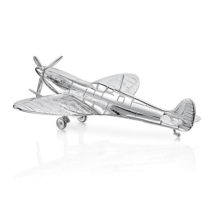 Hamilton & Inches Hand-Crafted Spitfire with Moveable Wheels & Propeller