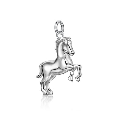 Horse Charm In Sterling Silver-H & I-Hamilton & Inches