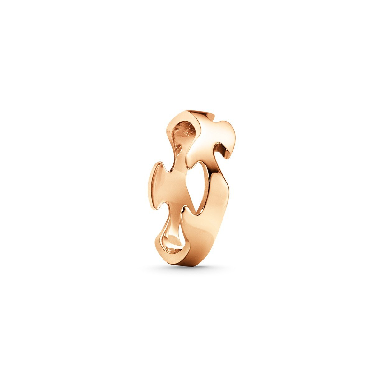 Georg Jensen Fusion Centre Ring in 18ct Rose Gold-Hamilton & Inches