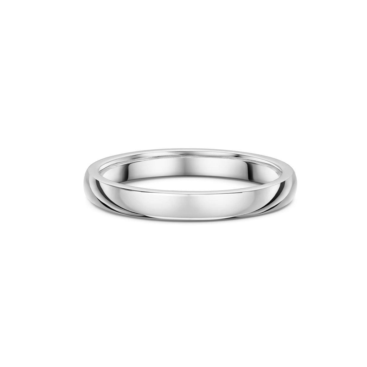The Engagement Collection: 2.4mm Wedding Ring in Platinum-Hamilton & Inches