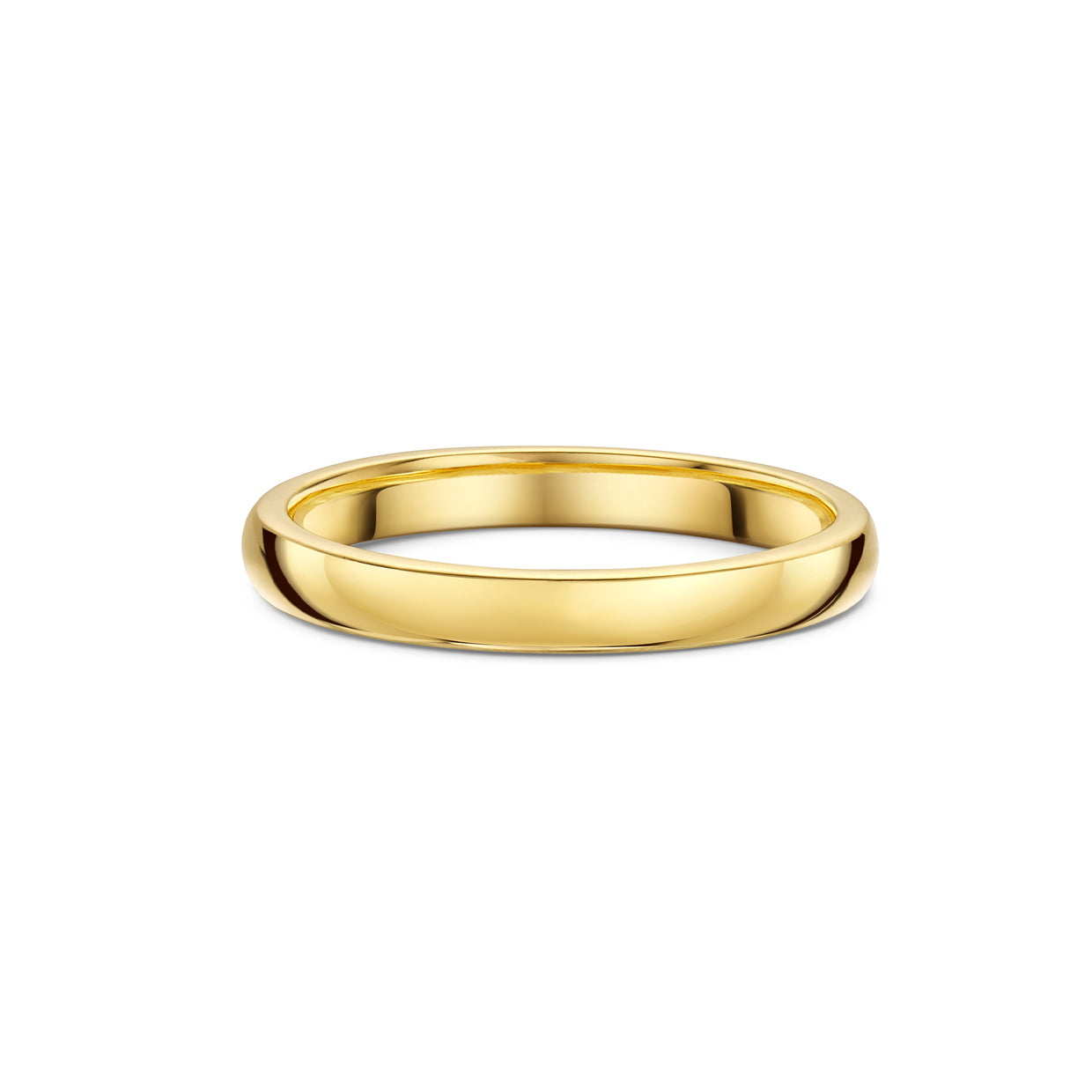 The Engagement Collection: 2.4mm Wedding Ring in 18ct Yellow Gold-H & I-Hamilton & Inches