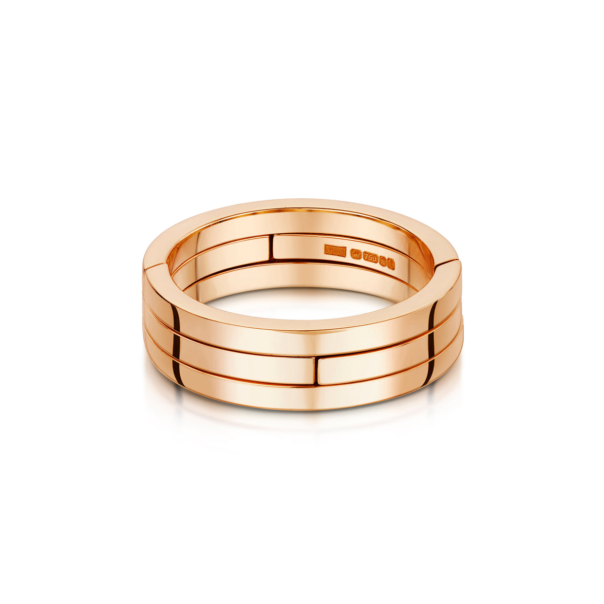 Collapsable Picture Ring in 18ct Rose Gold-Hamilton & Inches