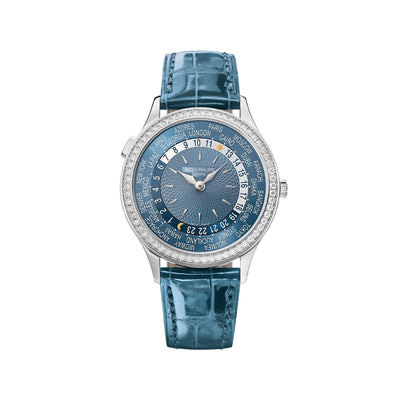 Patek Philippe World Time Complications in White Gold-Hamilton & Inches