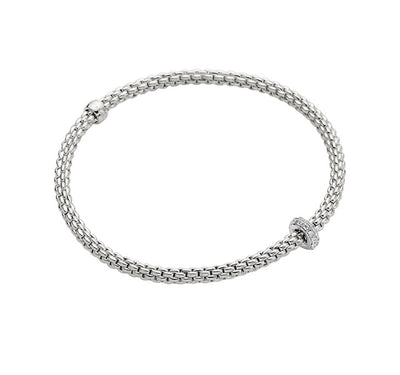FOPE Prima Bracelet in 18ct White Gold-Hamilton & Inches