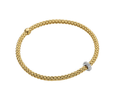FOPE Prima Bracelet In 18ct Yellow Gold-Hamilton & Inches