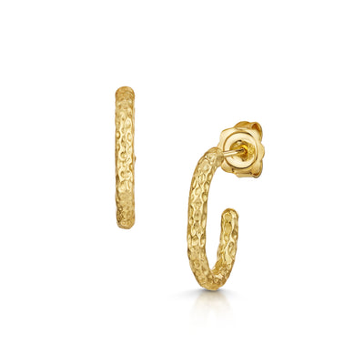 Luna Hoop Earrings In18ct Yellow Gold-Hamilton & Inches
