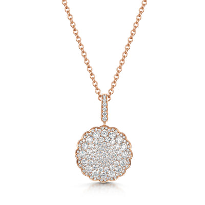 Bloom Pendant in 18ct Rose Gols-Hamilton & Inches