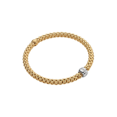 FOPE Solo Bracelet in 18ct Yellow Gold - Hamilton & Inches