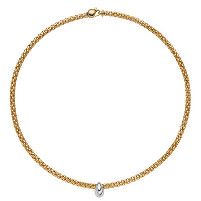 FOPE Solo Necklet in 18ct Yellow Gold