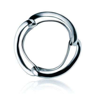 George Jensen Infinity Bangle in Sterling Silver-Hamilton & Inches