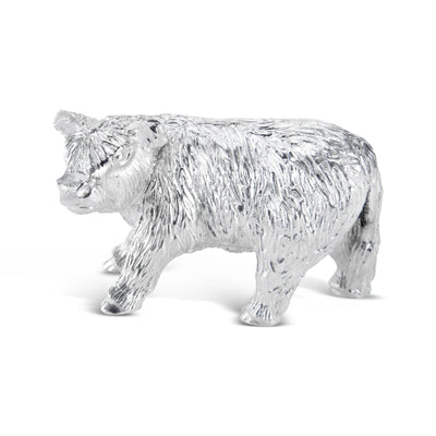 Sterling Silver Highland Cow Calf