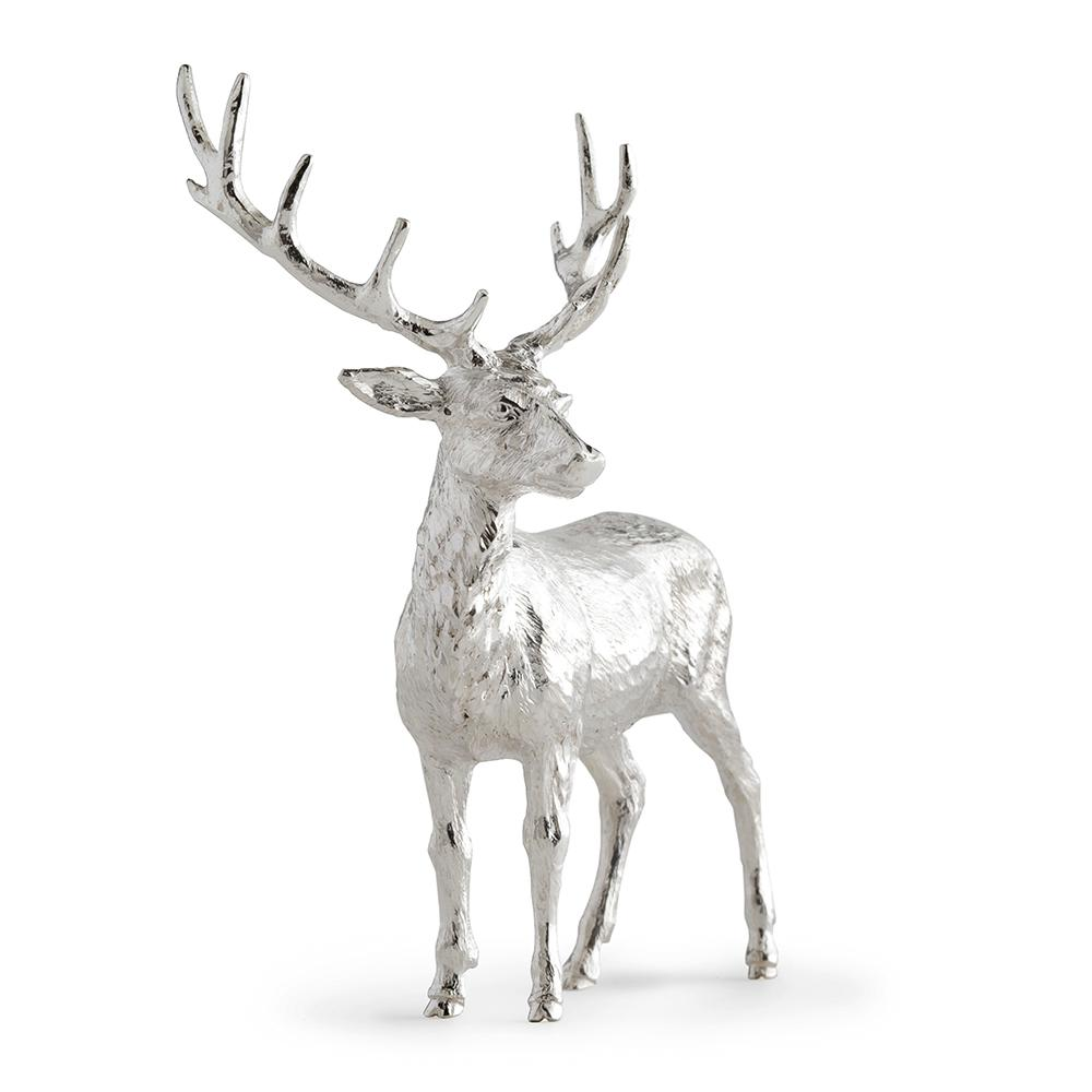 Sterling Silver Small Stag - Hamilton & Inches