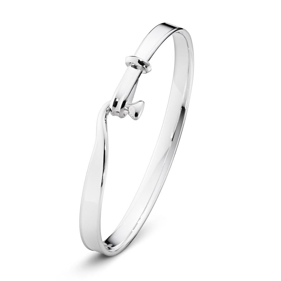 George Jensen Vivianna Torun Bangle in Sterling Silver-Hamilton & Inches